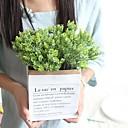 رخيصةأون نباتات اصطناعية-زهور اصطناعية 1 فرع كلاسيكي / فردي أنيق / النمط الرعوي نباتات أزهار الطاولة