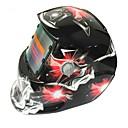 povoljno Sigurnost-crvena crvena dijamant uzorak solarna automatska fotoelektrična maska za zavarivanje