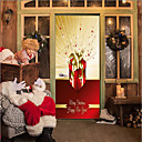preiswerte Wand-Sticker-Türaufkleber - 3D Wand Sticker Weihnachten / Feiertage Drinnen / Draußen