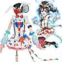 abordables Disfraces de Videojuegos-Inspirado por Amor en Vivo Cosplay Animé Disfraces de cosplay Trajes Cosplay Bloques Vestido / Lazo / Más Accesorios Para Hombre / Mujer