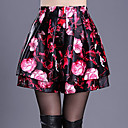 cheap Necklaces-Women's Going out Plus Size Swing Skirts - Floral