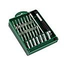 preiswerte Schraubenzieher & Steckschlüssel-LAOA Festigkeit Tragbar 32 in 1 Werkzeugkästen für die Reparatur von Computern Telefon Reparatur für Uhrmacher