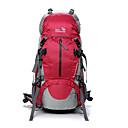 preiswerte Rucksäcke & Taschen-OSEAGLE 50 L Rucksäcke / Rucksack - Wasserdicht, Regendicht, tragbar Außen Camping & Wandern, Klettern Maschen, Nylon Rot, Blau, Leicht Grün
