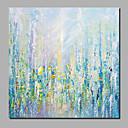 billige Abstrakte malerier-Hang malte oljemaleri Håndmalte - Abstrakt / Blomstret / Botanisk Moderne Inkluder indre ramme / Valset lerret / Stretched Canvas