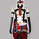abordables Disfraces de Anime-Inspirado por Amor en Vivo Cosplay Animé Disfraces de cosplay Trajes Cosplay Retazos / Varios Colores Vestido / Lazo / Más Accesorios Para Hombre / Mujer