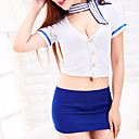 cheap Slipcovers-Women's Uniforms & Cheongsams Nightwear - Ruched Color Block
