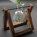 זול אדרטלים & סל-אגרטלים וסל לֹא סָדִיר עץ אומנותי קלאסי / אחת אגרטל