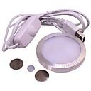 billige LED Økende Lamper-1pc 4 W 350 lm 12 LED perler Fullt Spektrum Lett installasjon Voksende lysarmatur Rosa 5 V Stadie