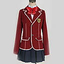 abordables Disfraces de Anime-Inspirado por Guilty Crown Inori Yuzuriha Animé Disfraces de cosplay Uniformes Escolares Británico / Contemporáneo Pañuelo / Chaqueta / Blusa Para Hombre / Mujer