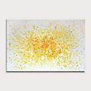 זול אומנות ממוסגרת-ציור שמן צבוע-Hang מצויר ביד - מופשט מודרני ללא מסגרת פנימית / בד מגולגל