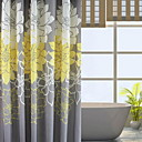 olcso Zuhanyfüggönyök-Shower Curtains & Hooks Kortárs 100 g / m2 Poliészter kötött sztreccs Géppel készített Új design