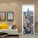 رخيصةأون السلاسل-لواصق حائط مزخرفة - لواصق حياة هادئة / الأزهار / النباتية غرفة الجلوس / غرفة دراسة / مكتب