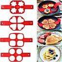 halpa Muotikorvakorut-Bakeware-työkalut Silikoni Tulokas for Cake Juusto Uutuusvälineet keittiöön Pyöreä Neliö kakku Muotit 1kpl