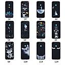 رخيصةأون حافظات الهواتف المحمولة-غطاء من أجل Huawei Huawei Honor 8X / Huawei Honor 8X Max مثلج / نموذج غطاء خلفي جملة / كلمة / منظر / حيوان ناعم TPU إلى Huawei Note 10 / Huawei Honor 10 / Huawei Honor 9 Lite