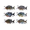 رخيصةأون طعم صيد الأسماك-1 pcs خدع الصيد طعم صيد جامد البلاستيك الكربون الصلب رداء واقي ضوء ومريحة سهلة الاستخدام الغرق الصيد البحري طعم الاسماك صيد الأسماك الغزلي / صيد الكالماري / إغراء الصيد / الصيد العام