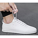 cheap Men's Sneakers-Men's Comfort Shoes PU(Polyurethane) Summer Sneakers White / Black and White / Pink / White