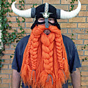cheap Ethnic & Cultural Costumes-Pirate Viking Hat Men's Women's Movie Cosplay Orange Hat Halloween Carnival Masquerade Cotton