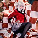 abordables Disfraces de Anime-Inspirado por Kakegurui Momobami Kirari Animé Disfraces de cosplay Uniformes Escolares A Cuadros / Guingán Manga Larga Pañuelo / Faldas / Chaqueta Para Mujer