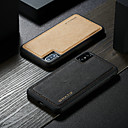 cheap iPhone Cases-WHATIF Case For Apple iPhone XS Max / iPhone 7 Plus DIY Back Cover Solid Colored Hard PU Leather for iPhone XS / iPhone XR / iPhone XS Max