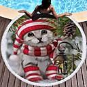 tanie Ręcznik plażowy-Najwyższa jakość Ręcznik plażowy, Malarstwo Mieszanka bawełny i poliestru 1 pcs