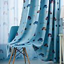 זול וילונות חלון-וילונות ילדים ים תיכוניים שני פנלים וילון / חדר ילדים / חדר ילדים