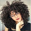 olcso Emberi hajból készült parókák-Remy haj Csipke Csipke eleje Paróka Brazil haj Afro Kinky Paróka Aszimmetrikus frizura 130% 150% 180% Haj denzitás Divatos dizájn Puha Női Kényelmes bodorítás Természetes Női Hosszú Emberi hajból