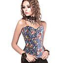 abordables Lingerie-Normal Polyester Corset Sexy Fleur Mariage Motif / Impression Corset