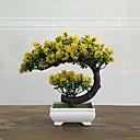 tanie TV Box-Sztuczne Kwiaty 1 Gałąź Klasyczny minimalistyczny styl Wieczne kwiaty Wazon Bukiety na stół