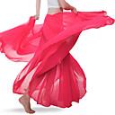 זול הלבשה לריקודי בטן-ריקוד בטן חלקים תחתונים בגדי ריקוד נשים הדרכה / הצגה שיפון סלסולים טבעי חצאיות