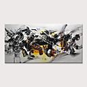 halpa Kehystetty taide-Hang-Painted öljymaalaus Maalattu - Abstrakti Moderni Ilman Inner Frame