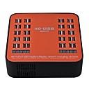 povoljno Lusteri-USB punjač SR-1008LS 6 Stanica punjača za stolno računalo LCD zaslon / New Design / S Smart Identification US utikač / EU utikač / UK utikač Punjač za punjenje