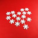 preiswerte Weihnachtsdeko-Urlaubsdekoration Neujahr / Weihnachtsdeko Weihnachten / Weihnachtsschmuck Dekorativ / Hochzeit Weiß 100 Stück