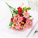 preiswerte Haar Accessoires-Künstliche Blumen 4.0 Ast Klassisch Rustikal Hochzeit Gänseblümchen Tisch-Blumen