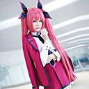preiswerte Anime-Kostüme-Inspiriert von Date A Live Kotori Itsuka Anime Cosplay Kostüme Cosplay Kostüme Genähte Spitzen Langarm Röcke / 1 Brosche / Mantel Für Damen