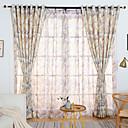 povoljno Prozorske zavjese-Mediterranean Zavjese Zavjese Dvije zavjese Zavjesa / Bedroom