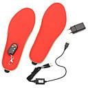 halpa Ohjaustangot ja rungot-3.7v 1200mah sähkölämmitteinen jalkine pohjallinen lämpimämpi lämmittimen jalat akku lämmin sukat suksi