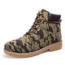 hesapli Erkek Botları-Erkek Ayakkabı PU Sonbahar Kış Çizmeler Bootiler / Bilek Botları Günlük için Sarı / Kahverengi / Ordu Yeşili