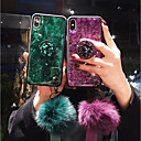 cheap Slippers-Case For Apple iPhone XS Max / iPhone 6 Shockproof Back Cover Glitter Shine Soft TPU for iPhone XS / iPhone XR / iPhone XS Max