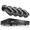 baratos Kit DVR-Sannce® 8ch 4 pcs sistema de sycurity 720p night vision camera system sem hdd