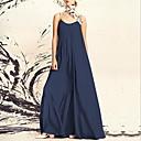 お買い得  人工毛キャップレスウィッグ-女性用 コットン スウィング ドレス マキシ ストラップ