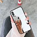 hesapli iPhone Kılıfları-Pouzdro Uyumluluk Apple iPhone XS / iPhone XR / iPhone XS Max Ayna Arka Kapak Solid Sert Arkilik