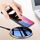 halpa Aikuisten asut-Langaton laturi USB-laturi USB Langaton laturi / Qi 1 USB-portti 1.5 A / 1 A DC 9V / DC 5V varten iPhone X / iPhone 8 Plus / iPhone 8
