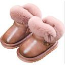 hesapli Çocuk Botları-Genç Kız Suni Deri Çizmeler Bebek (9 milyon 4ys) / Küçük Çocuklar (4-7ys) / Büyük Çocuklar (7 yaş +) Rahat / Kar Botları Siyah / Pembe / Gri Kış / Bootiler / Bilek Botları