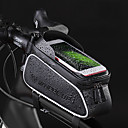 cheap Bike Frame Bags-Wheel up 2.457 L Cell Phone Bag Bike Frame Bag Top Tube Portable Cycling Wearable Bike Bag Terylene Bicycle Bag Cycle Bag Cycling / iPhone X / iPhone XR Outdoor Exercise Trail / iPhone XS