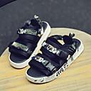 cheap Men's Boots-Men's Comfort Shoes PVC(Polyvinyl chloride) Summer Sandals Rainbow / Black / Gold / Black / White