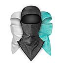 povoljno Maske za lice-CoolChange maskirne kape Face Mask Jedna barva UV otporan Prozračnost Puha Izzadás-elvezető Bicikl / Biciklizam Tamno siva Zelen Siva Poliester za Muškarci Žene Odrasli Vježbanje na otvorenom