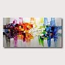 halpa Tulosteet-Hang-Painted öljymaalaus Maalattu - Abstrakti Comtemporary Moderni Sisällytä Inner Frame