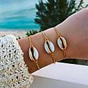 povoljno Modne ogrlice-Žene Narukvica Školjka Puka Shell Stilski Jednostavan Nakit na Havajima Legura Narukvica Nakit Zlato Za Dnevno
