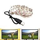 זול רצועות נורות LED-2m סרטי תאורת LED גמישים 120 נוריות SMD2835 לבן חם / לבן קר יו אס בי / Party / דקורטיבי מופעל באמצעות USB 1pc