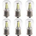 hesapli Car Signal Lights-6pcs 1156 / 1157 Araba Ampul 4 W COB 300 lm 4 LED Dönüş Sinyali Işığı / Fren lambaları / Geri vites (yedek) lambaları Uyumluluk Uniwersalny Tüm Yıllar